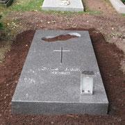 Liegestein Nero Impala Waldfriedhof Ansbach
