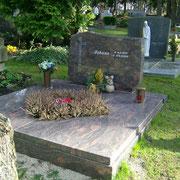Doppelgrab Hymalaya Waldfriedhof Ansbach