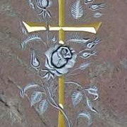 Kreuz mit Rosen auf Paradiso
