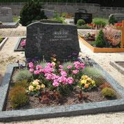 Doppelgrabstein Paradiso Friedhof Lichtenau