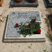 Urnengrab Kaschmir white und Labrador Friedhof Lichtenau
