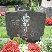 Doppelgrabstein Nero Impala Friedhof Weihenzell