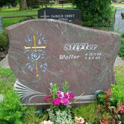 Doppelgrabstein Paradiso Granit Friedhof Weihenzell