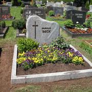 Doppelgrabanlage Paradiso Friedhof Großhaslach