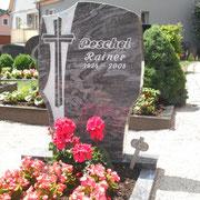 Einzelgrabstein Orion alter Friedhof Sachsen b. Ansbach