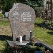 Einzelgrab Hymalaya Stadtfriedhof Ansbach