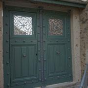 Porte de la prison de la Roquette inaugurée - juin 2014 - Baulne en Brie