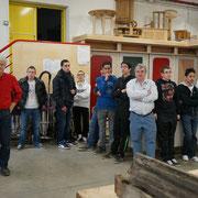 Restauration de la porte de la prison de la Roquette par les élèves du lycée Jules Verne de Château-Thierry