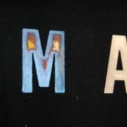 M が錆有り  A が磨き後