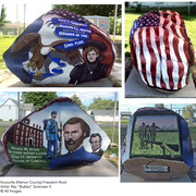 The Marion County Freedom Rock - Knoxville, Iowa