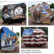 The Lyon County Freedom Rock - George, Iowa
