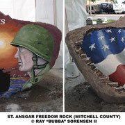 The Mitchell County Freedom Rock - St. Ansgar, Iowa