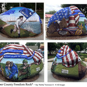 The Jasper County Freedom Rock - Sully, Iowa