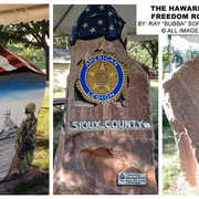 The Sioux County Freedom Rock - Hawarden, Iowa