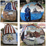 The Appanoose County Freedom Rock - Centerville, Iowa