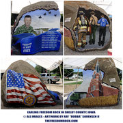 The Shelby County Freedom Rock - Earling, Iowa