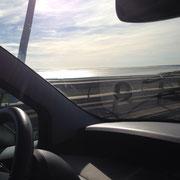 mitten auf der Brücke mit 100'000km auf dem Tacho