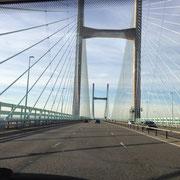 Newport Brücke nach Wales