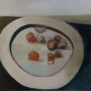 Knödel, 145cm x 195cm, Öl/ Leinwand