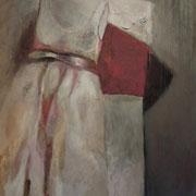 Hochzeitskleid, 195cm x 145 cm, Öl/ Leinwand