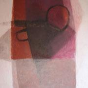 Tisch, 195cm x 145cm, Öl/ Leinwand