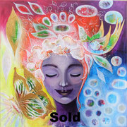 """""""Sommer"""" Acryl 60x60 SOLD"""