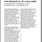 """Kommentar Magazin """"Jerusalem"""""""