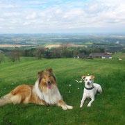 Alice und ihr liebster Hundefreund Jacky!
