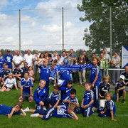 Schalker U9 Traininglager in Gesmold