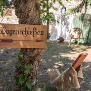 Bogenschießen zum Mittelalterfest