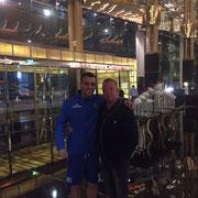 Jochen mit Filip Kostic