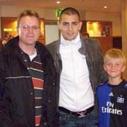 Markus, Petric und Collin