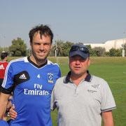 mit Heiko Westermann (weitere Bilder unter Bilder/Fotos Abu Dhabi)