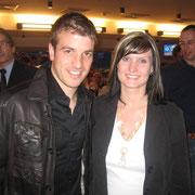 Rafael van der Vaart mit Janett