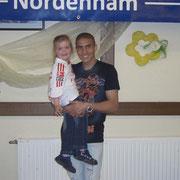 Mohamed Zidan mit Lorina