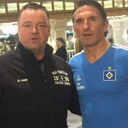 Jochen Spekker und Bruno Labbadia (Belek)