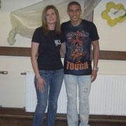 Janett mit Mohamed Zidan