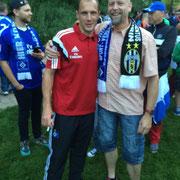 Jaroslav Drobny mit Markus Heinrichsmeyer