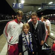Jacopo Sala, Bennett und Frank Arnesen