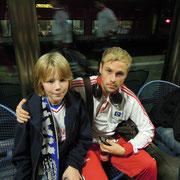 Bennett und Maximilian Beister (noch mehr Bilder unter Fotos 2012 Fürth)