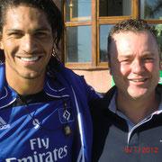 Jochen auf Marbella mit Guerrero