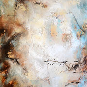 Gelegenheit 2, 180x100cm, Acryl, Sandstruktur, Kohle, Marmohrmehl, Kaffeesatz auf Leinwand. Galeriekeilrahmen 03/2015