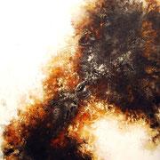 Das Böse in mir 5, 200x180cm, Acryl, Sandstruktur auf Leinwand, Galereikeilrahmen 01/2015