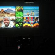 Mit vielen Bildern und zwei Dia-Ton-Shows von Winfried Sommer wurden die Besucher dann regelrecht nach Tansania entführt.