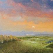 Sonnenaufgang über Lilienstein