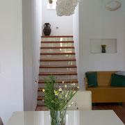 Einfamilienhaus modern, Stiege