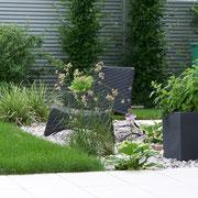 Garten, Kies, Outdoor Gestaltung