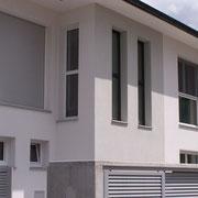 Stiegenhaus Einfamilienhaus modern