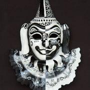 máscara bufón