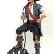 pirata con barril